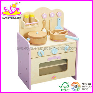 Wooden Toy   Natural Wood Kitchen Toy (W10C010)