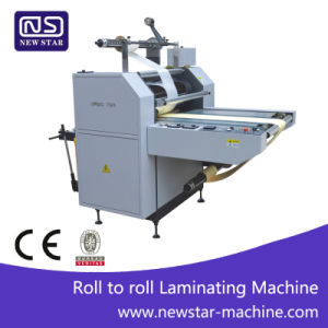 Yfmc-520d/720d/920d Roll to Roll Laminating Machine pictures & photos