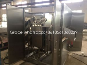 Semi-Auto Small Capacity 200-500 Birds/Hour Poultry Slaughtering Machine for Chicken pictures & photos