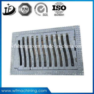 Waterproof/Lockable/Sewer/Grate Ductile/Wrought Iron Casting Manhole Cover pictures & photos
