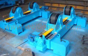 Self Centering Motorised Movable on Rails Tank Pipe Boiler Rotator