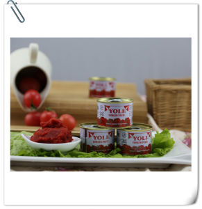 Italian Quality Tomato Paste with 70g 210g 400g 800g 850g 1kg 2.2kg 3kg 4.5kg Tin Size From Supplier pictures & photos