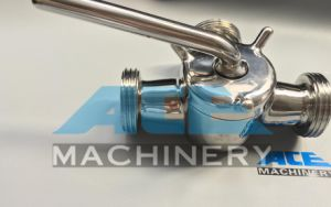 Stainless Steel Dairy Plug Valve with Union (ACE-XSF-3G) pictures & photos