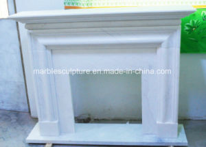 Factory Sell Simple Design Marble Fireplace (SY-MF133) pictures & photos