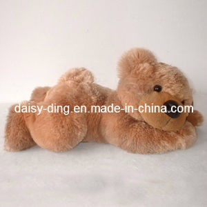 Plush Lying Cute Teddy Bear with Soft New Material pictures & photos