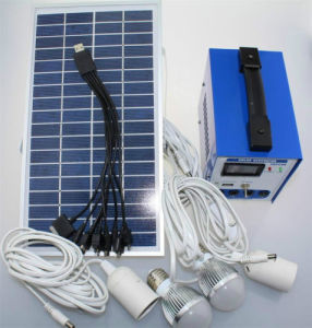 Solar Power System Panel, Battery Charger, LED Lights, Inverter pictures & photos