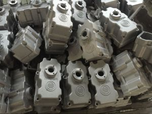 Weichai Auto Parts Spare Aluminum Die Casting Engine Motor Housing pictures & photos