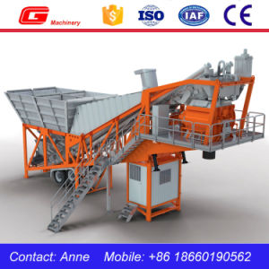 Yhzs50 Mobile Concrete Batching Plant Price for Sale pictures & photos