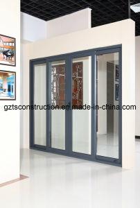 Four Panels Patio Sliding Aluminum Door (TS-252) pictures & photos