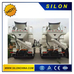 Silon 8m3 Concrete Mixer Truck with Shannxi Truck Chassis pictures & photos