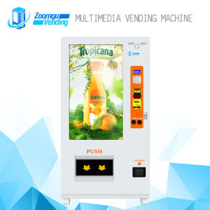 Full Touch Screen Media Multifunction Automatic Vending Machine for Beverage pictures & photos