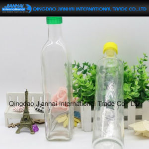 Square Olive Oil Storage Glass Bottle with Different Size pictures & photos