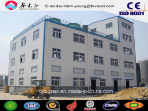 Multi-Floor Industrial Buiding Materials/Steel Structure Prefabricated Workshop (JW-16292) pictures & photos