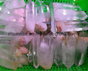 Semi Precious Stone Rock Crystal Rough Points pictures & photos