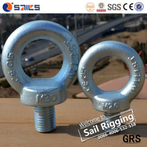 Drop Forged Galvanized Carbon Steel DIN 580 Eye Bolt Screw pictures & photos