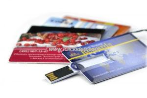 Most Popular Credit Card USB Flash Drive/Memory Drive/USB Disk