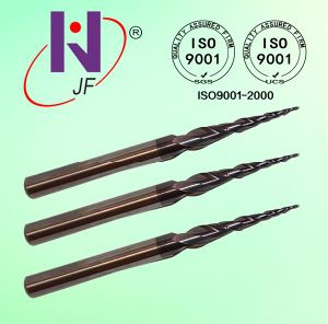 Tungsten Solid Carbide Coated Tapered Ball Nose End Mills Cone End Mills pictures & photos