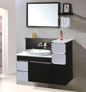 Steel Bath Vanity for Washroom Wall Mounted pictures & photos