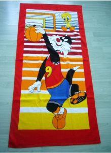 Printed Beach Towel (FC-G141109)