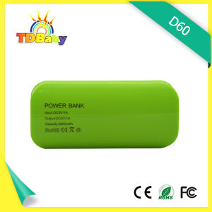4000mAh Dual USB Output and LED Light Power Bank (D60)