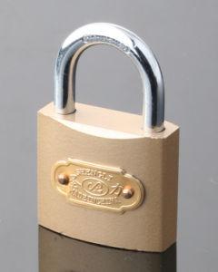 Imitate Brass Arc Type Padlock (IBP) pictures & photos