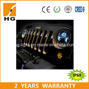 A0101b Wholesale Black Round 7inch LED Headlight pictures & photos