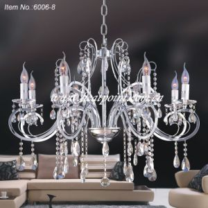 Crystal Chandelier Lamp with E12/E14/E17 Lamp Holder (CE Approval)