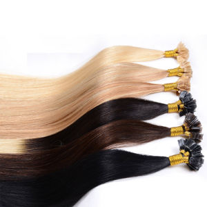 U-Tip/I-Tip/V-Tip Prebonded Hair Extension Human Hair Keratin Hair pictures & photos