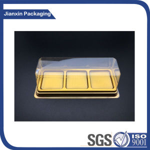 Customize Golden Plastic Blister Tray Packaging pictures & photos
