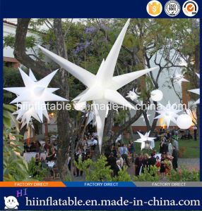 2015 Hot Selling Decorative LED Lighting Inflatable Star 0009 for Event, Celebration pictures & photos
