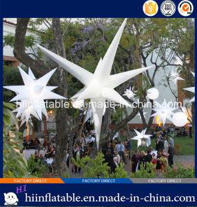 2015 Hot Selling Decorative LED Lighting Inflatable Star 0009 for Event, Celebration