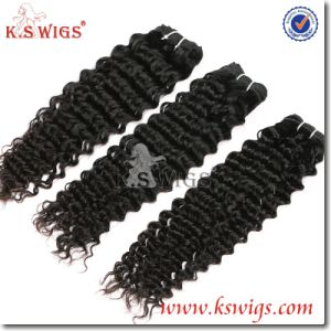 Unprocessed Virgin Hair Brazilian Human Hair Extension pictures & photos
