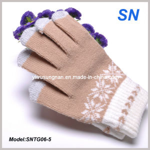 2015 Factory Light Brown for iPhone Texting Gloves (SNTG06-5) pictures & photos