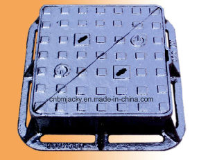 Manhole Cover Ductile Iron Class B125 / C250 / D400 Double Triangle pictures & photos