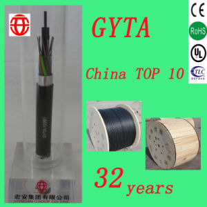 GYTA 8 Core Outdoor Stranded Loose Tube Optical Cable with Single Mode for Duct Buried pictures & photos