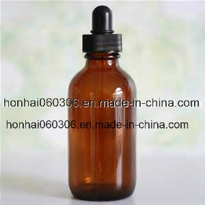 100ml Amber Glass Essential Oil Bottle with Glass Tube Dropper pictures & photos