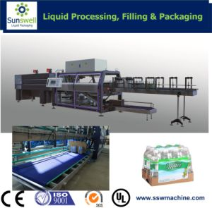 Semi Automatic Sleeve Shrink Wrapper pictures & photos