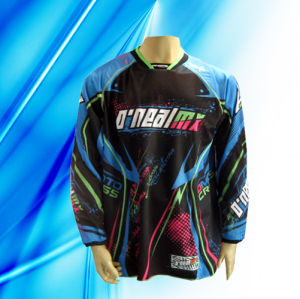 100% Polyester Man′s Long Sleeve Motorcycle Jersey pictures & photos