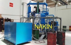 Black Diesel Engine Oil Distillation Recycling Machine/Base Oil Recycling pictures & photos