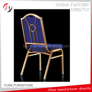 Celebration Banquet Hall Flower Back Chinese Iron Chair (BC-162) pictures & photos