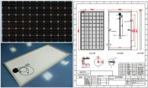 30V 36V 245W 250W 255W 260W Monocrystalline Solar Panel PV Module with TUV ISO Approved pictures & photos