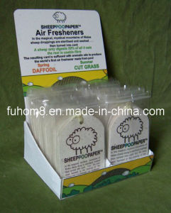 Hot Sell Lovely Animal Paper Air Freshener with Display Box pictures & photos