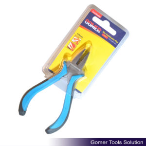 "4.5"" Hot Selling Rubber Handle Mini Combination Plier (T03022-B) pictures & photos"