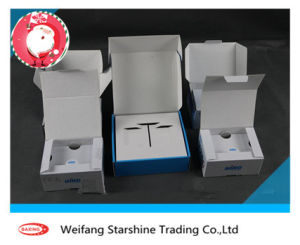 300g White Coated Duplex Board with Gray Back