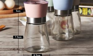 Transparent Glass Pepper Sesame Burnisher (CS-055) pictures & photos
