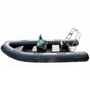 Rib Boat PVC/ Hypalon Inflatable Rib Boat with CE (RIB470A)
