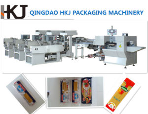 Full Automatic Spaghetti Wrapping Machine (LS-37) pictures & photos