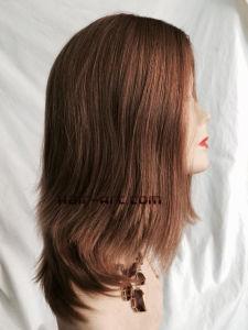 """100% Virgin European Hair Silk Top Sheitels Kosher Wigs-10"""" pictures & photos"""
