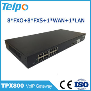 China Manufacturer Directory Support Local Switch VoIP Gateway FXO pictures & photos
