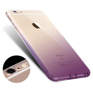 Gradient TPU Gel Case Soft Dual Silicon Cover for iPhone pictures & photos